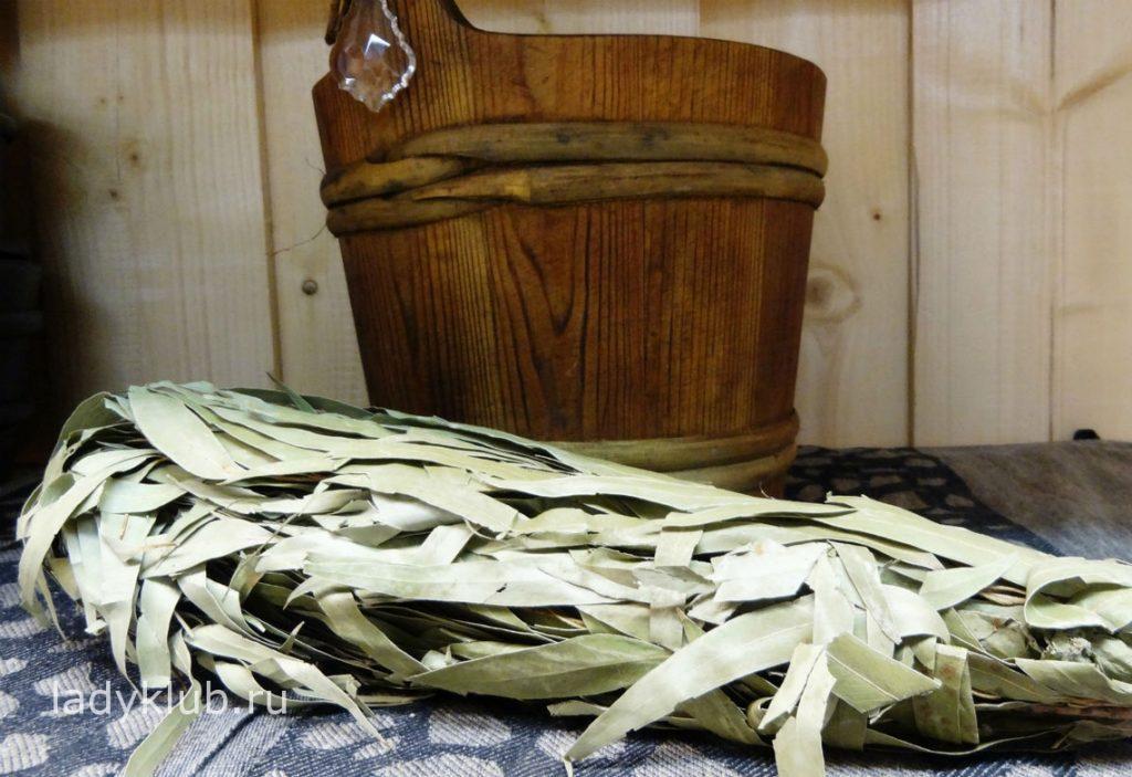 Эвкалиптовый веник для бани