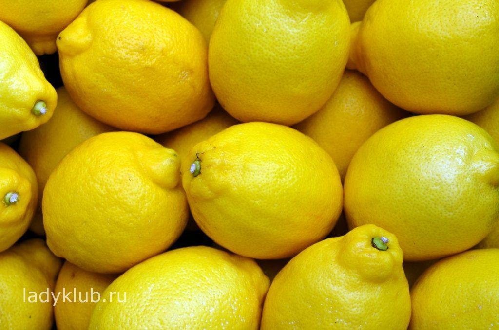 Лимоны для очистки организма