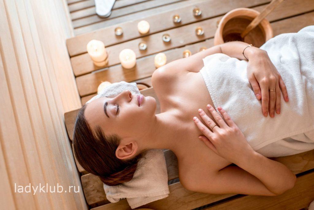 Медитация и расслабление в сауне