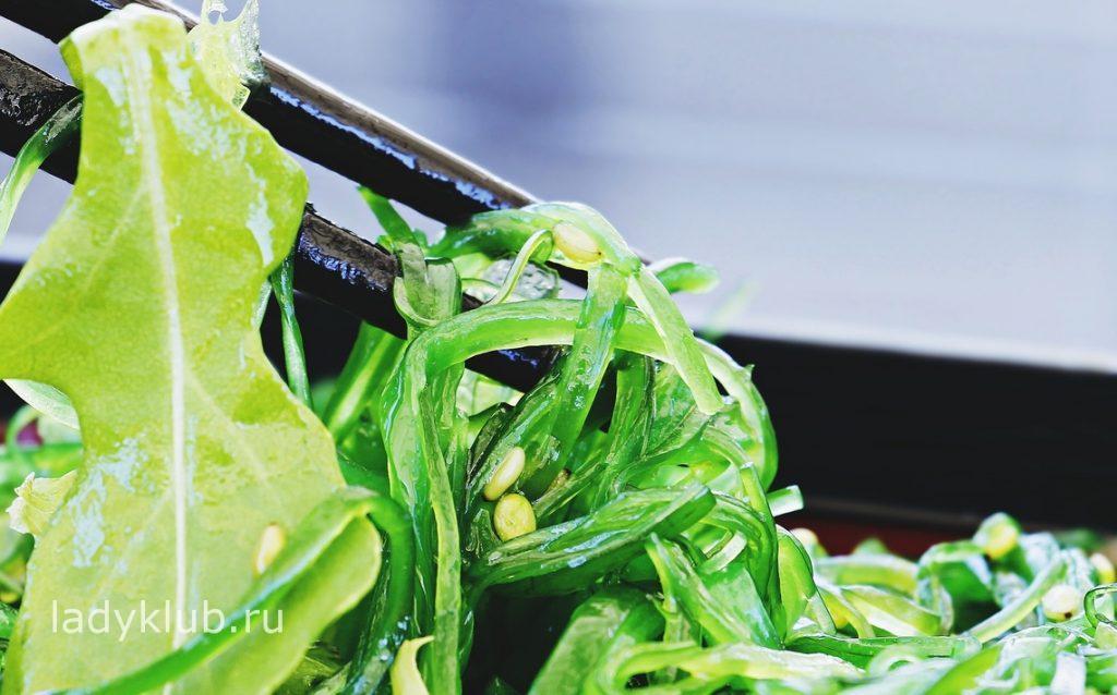 Морские водоросли для очистки организма