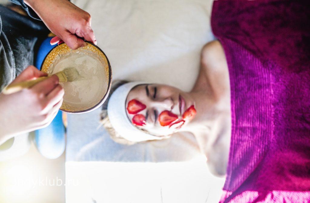 маска из клубники для кожи лица
