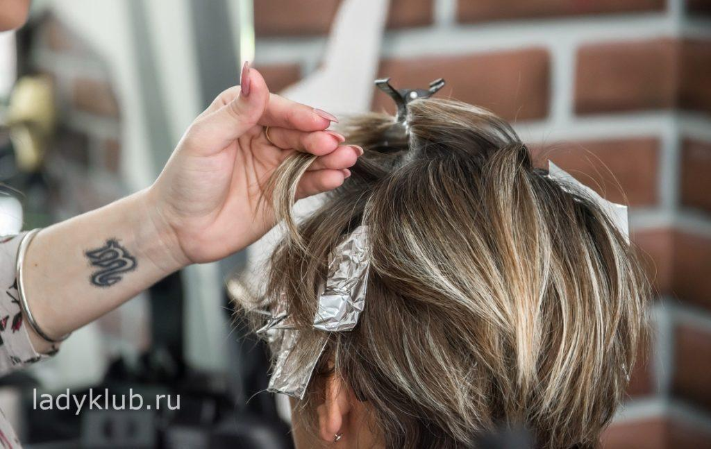 Что такое колорирование волос