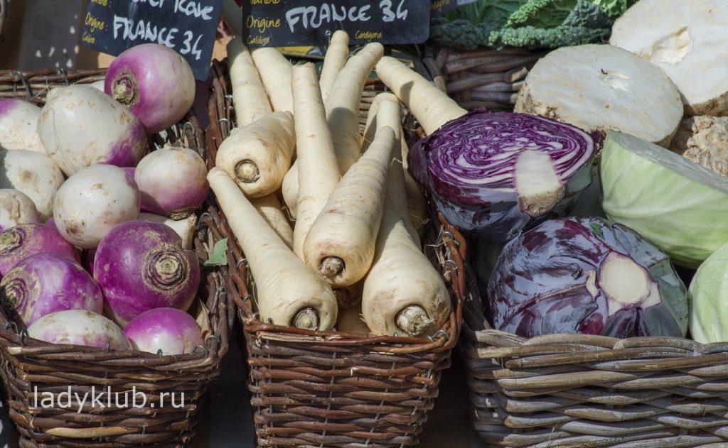 Ежедневно в рационе должны быть овощи