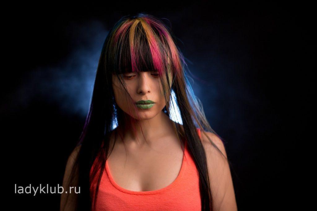 Колорирование волос фото 1