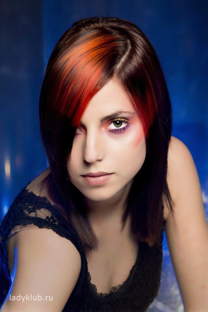 Колорирование волос фото 10