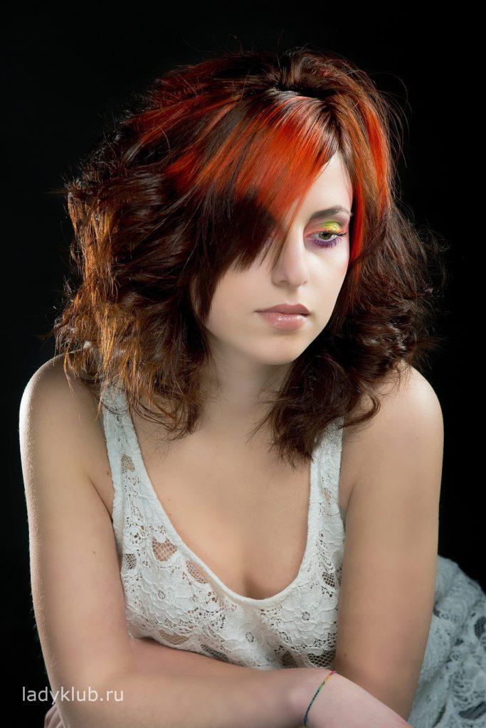 Колорирование волос фото 14