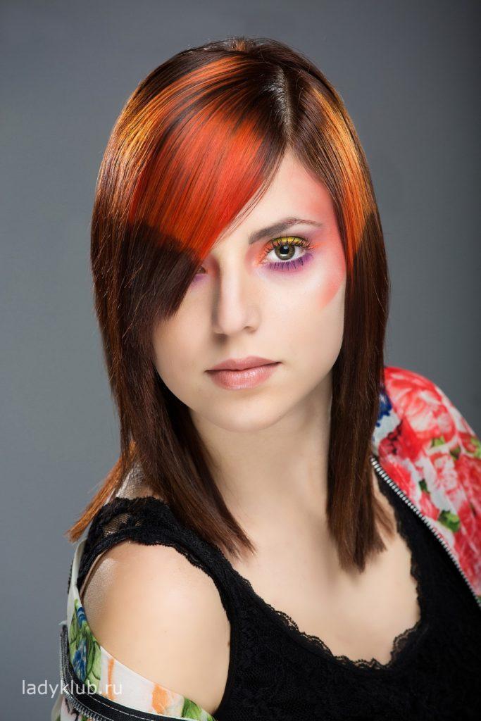 Колорирование волос фото 15
