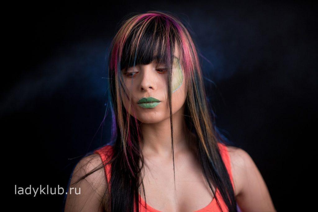Колорирование волос фото 2