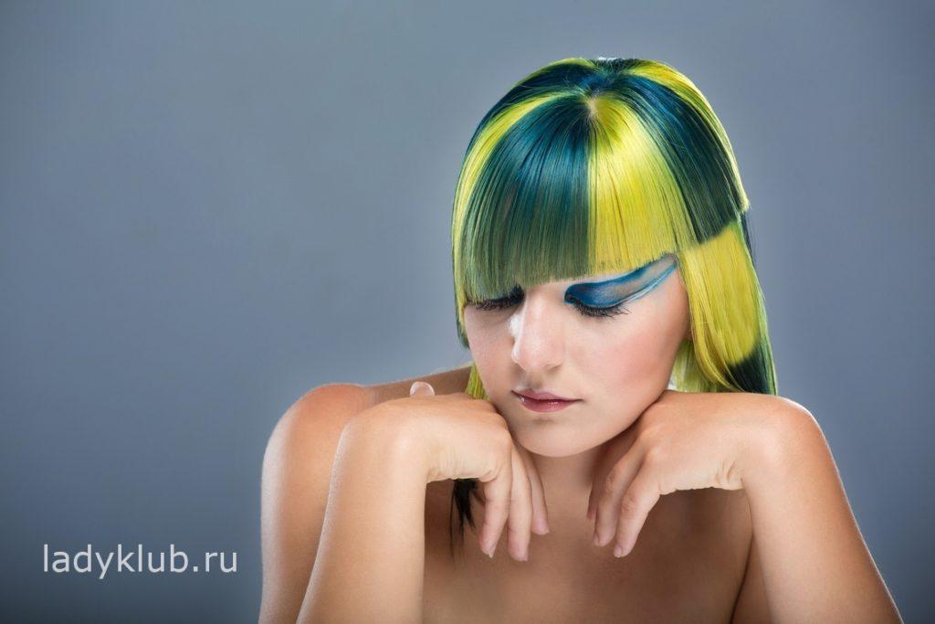 Колорирование волос фото 3