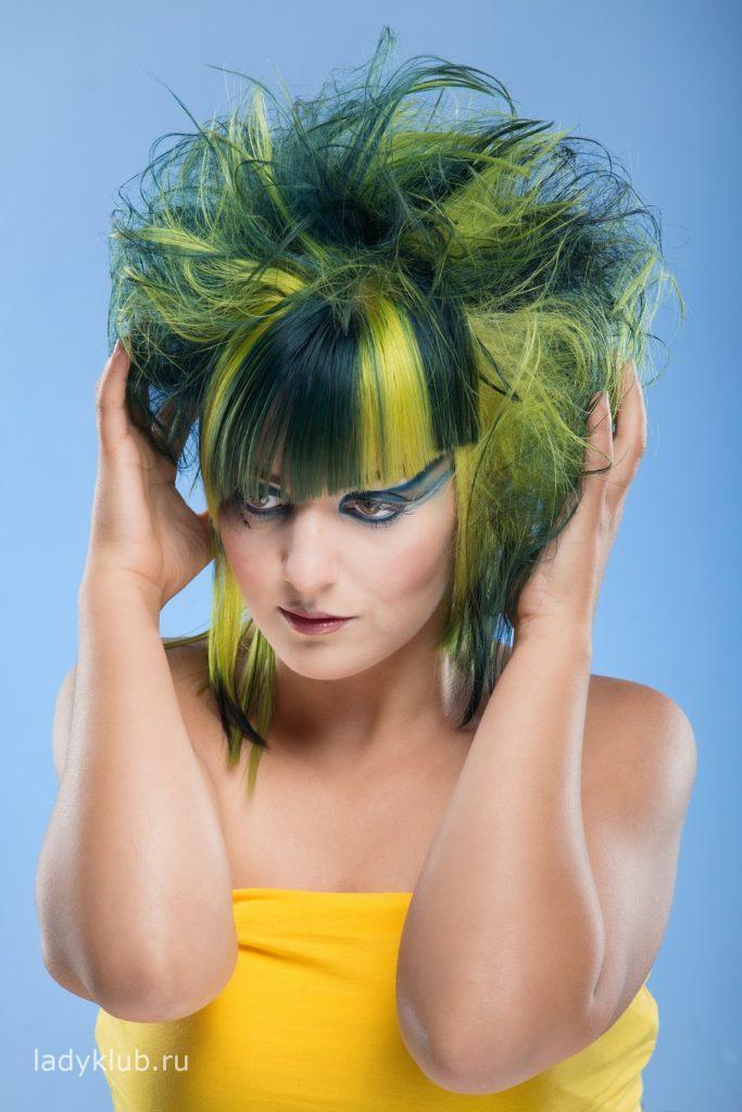 Колорирование волос фото 4