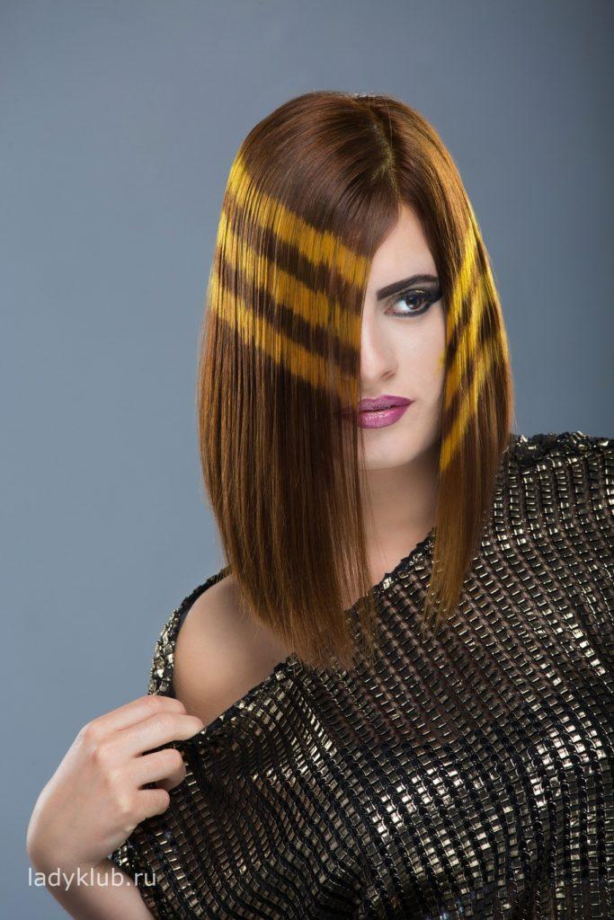 Колорирование волос фото 5