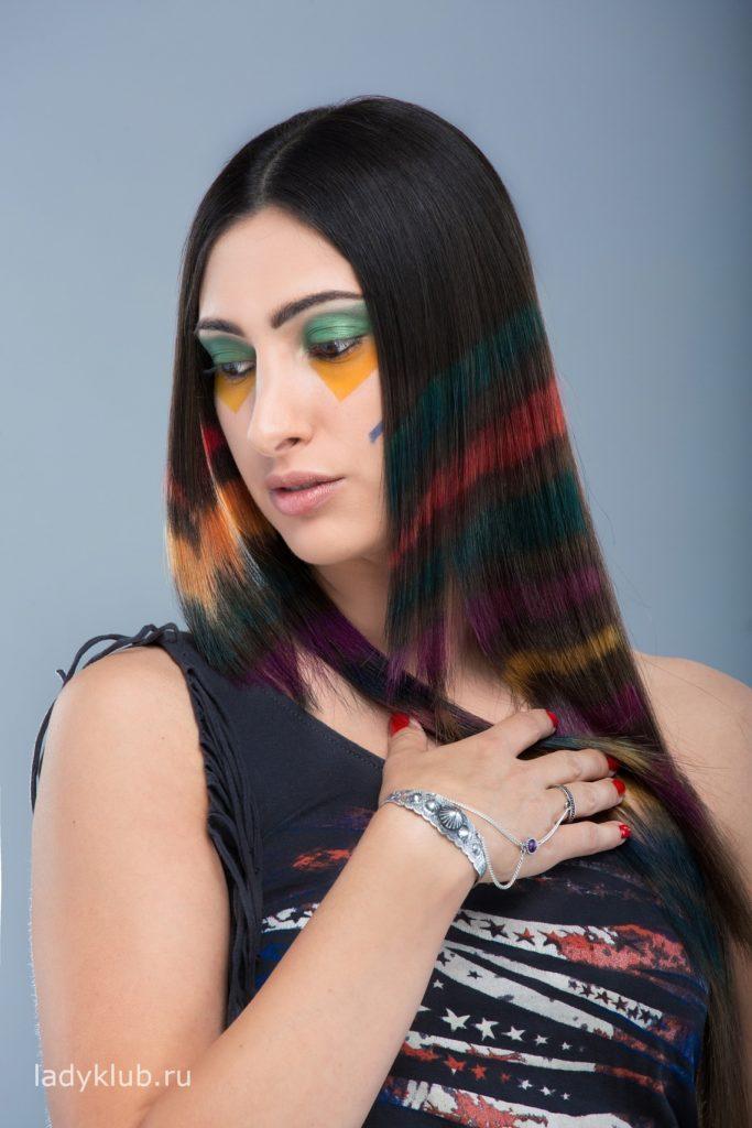 Колорирование волос фото 6