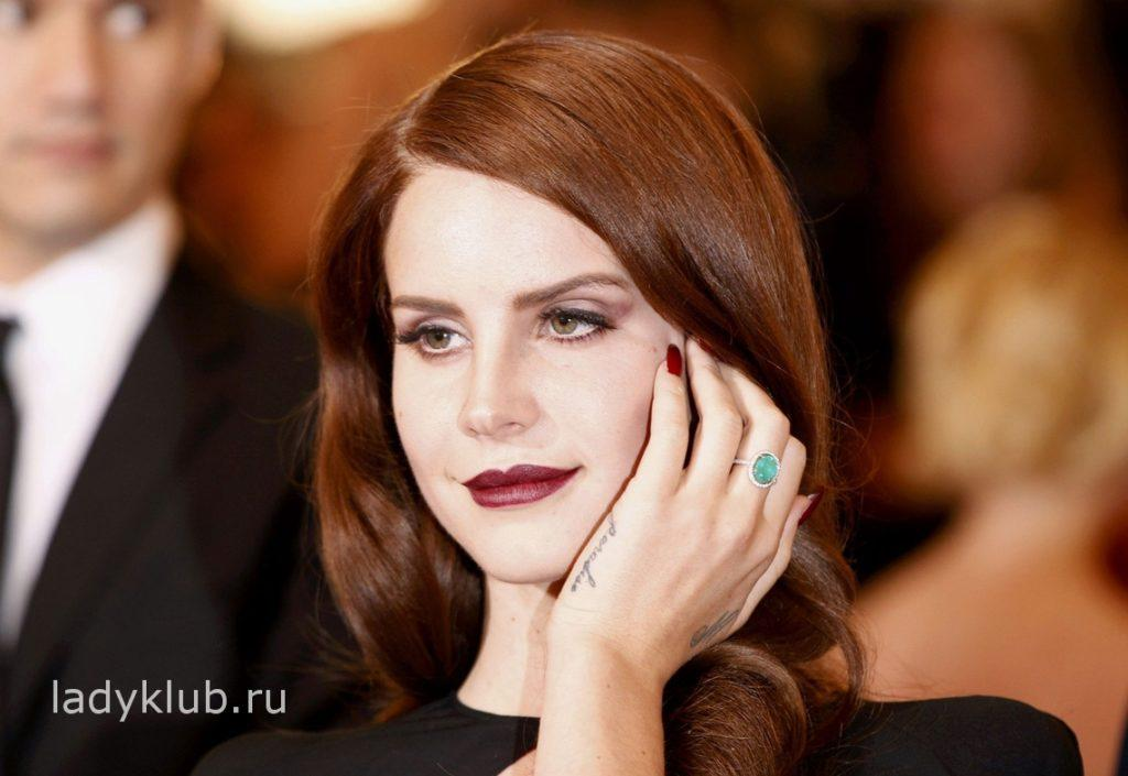 Певица Lana Del Rey