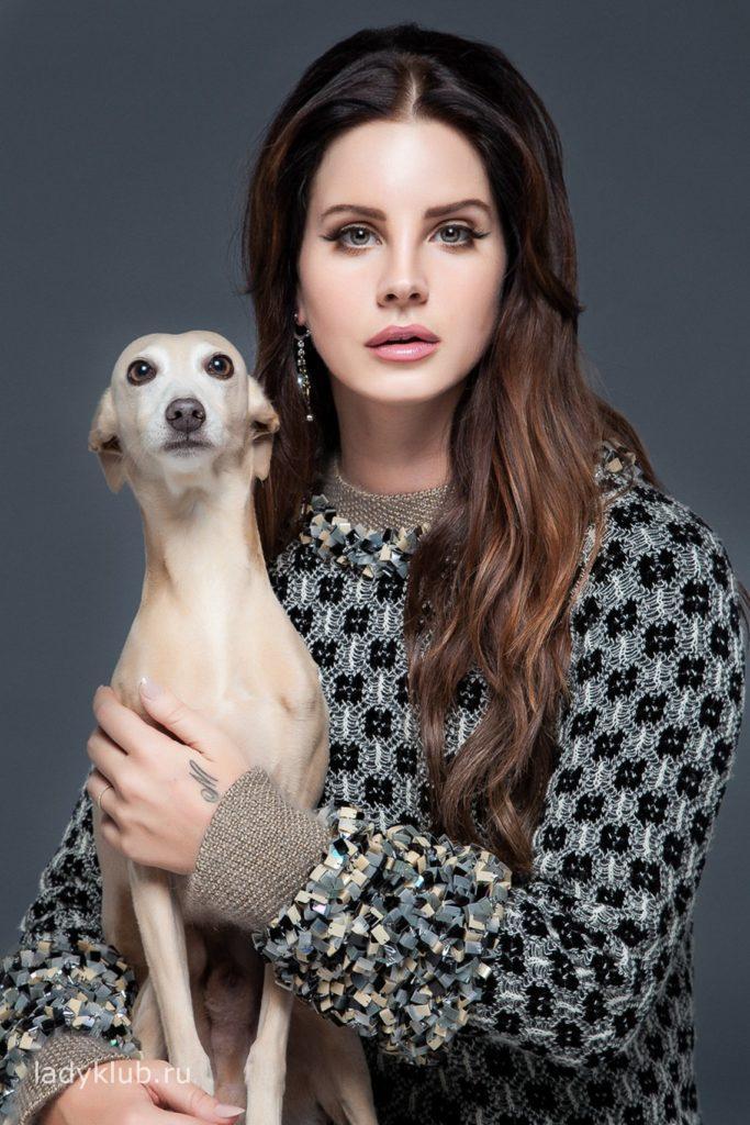 Лана Дель Рей с собакой фото 61