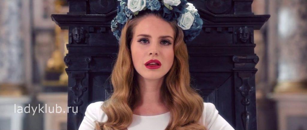 Lana Del Rey-Цветочная корона
