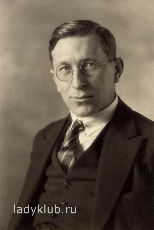 Фредерик Грант Бантинг (Frederick G. Banting). Торонто, 1923 г.