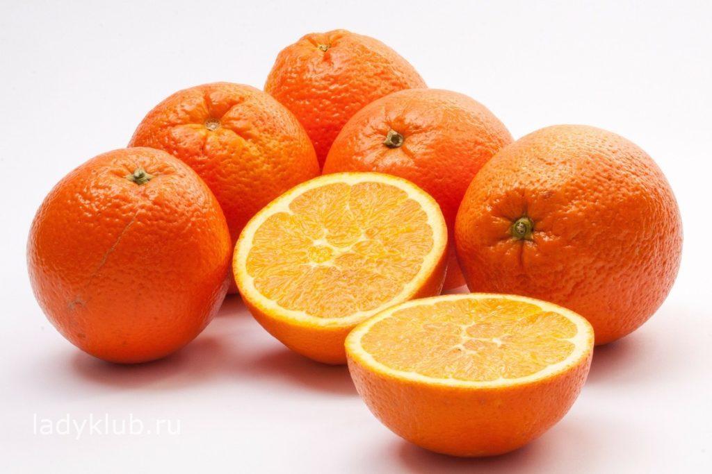 Пищевая ценность апельсина