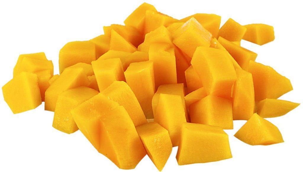 Пищевая ценность манго в 100 граммах