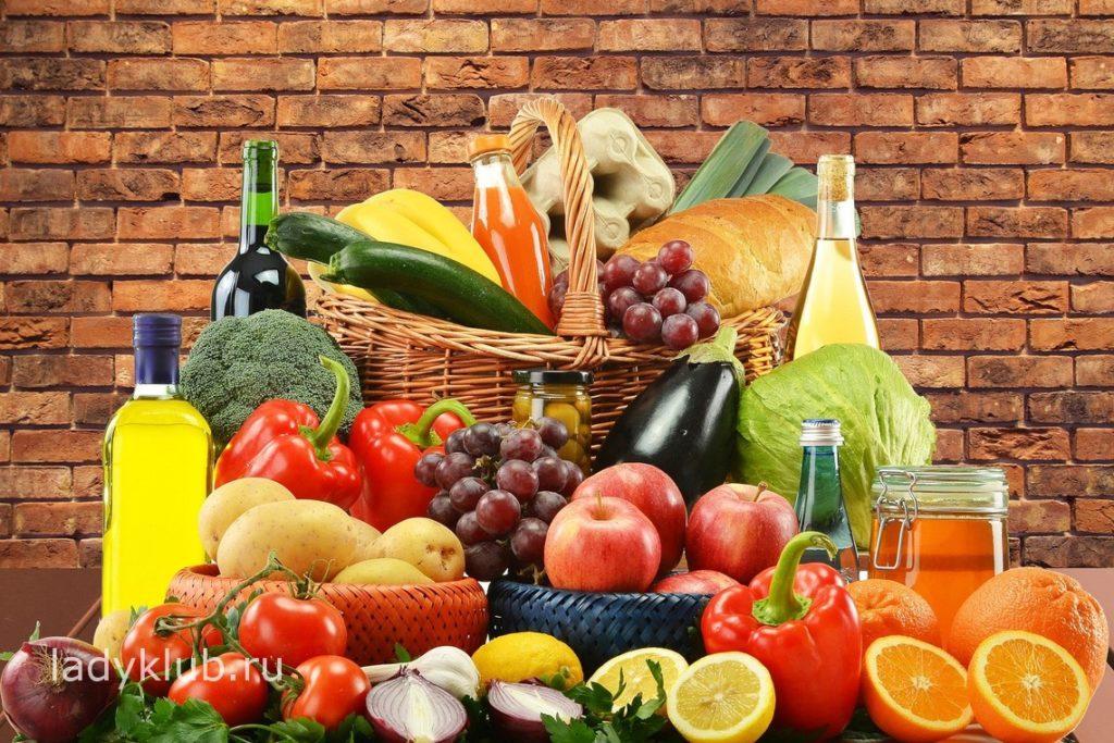Сочетание продуктов при раздельном питании