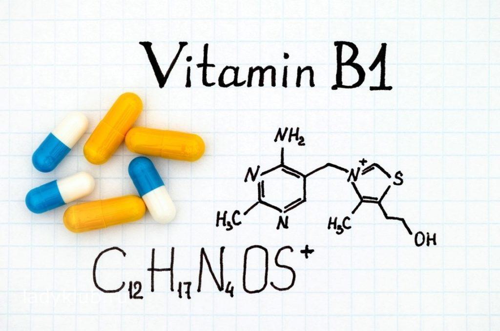 Химические свойства витамина В1