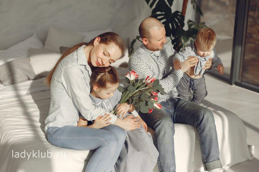 Плюсы семейной жизни