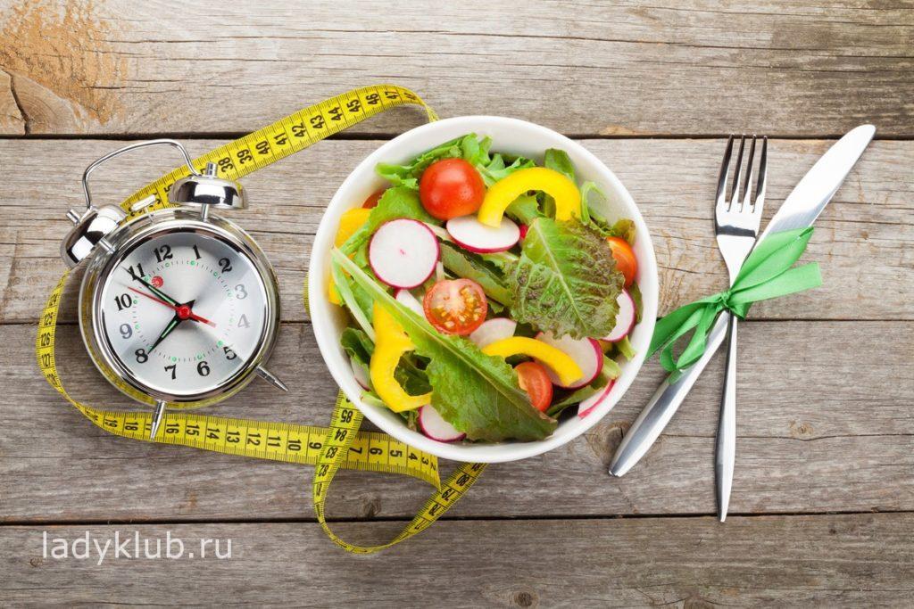 Положительные стороны дробного питания