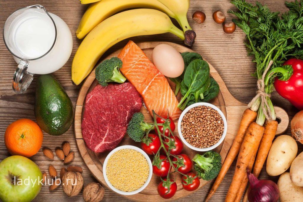 Формула сбалансированного питания